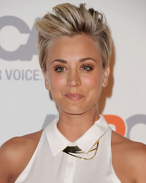 10 times Kaley Cuoco gave us short hair envy - and how to get the looks - Photo 8