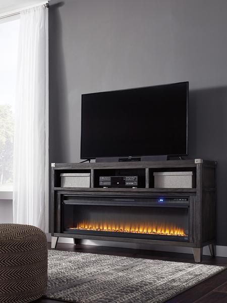 65 Media Fireplace In 2020 Fireplace Tv Stand Electric