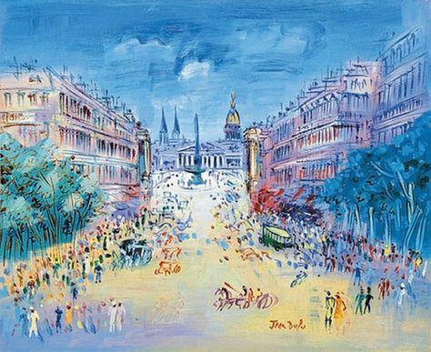 rue royale Jean DUFY