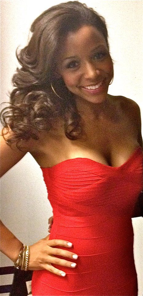 Spike TV Bar Rescue Jesse Barnes Hot red dress