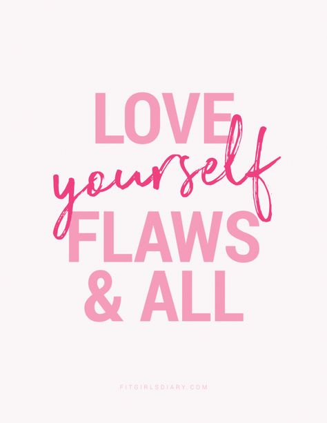 Love Yourself First - Valentine's Day Motivational Posters - Fit Girl's Diary