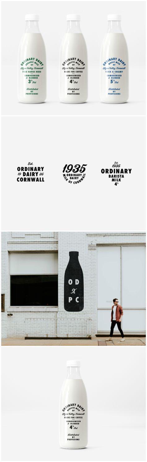Ordinary Dairy — Studio Look at that Creates a Heritage Milk Brand - World Brand Design Society