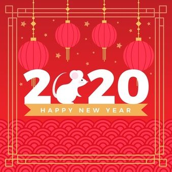 Download Chinese New Year Background With Mouse For Free In 2020 Chinese New Year Background New Years Background Happy Lunar New Year