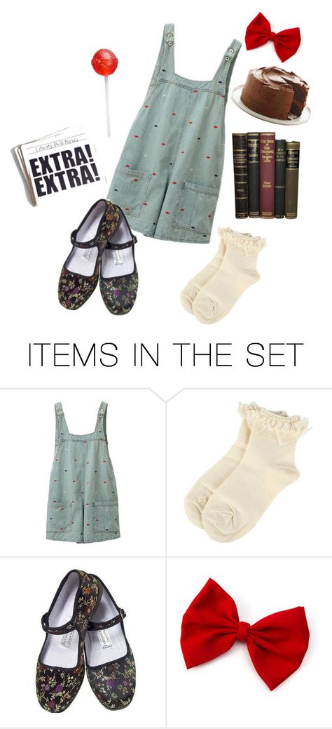 """Matilda."" by gema-z ❤ liked on Polyvore featuring art"