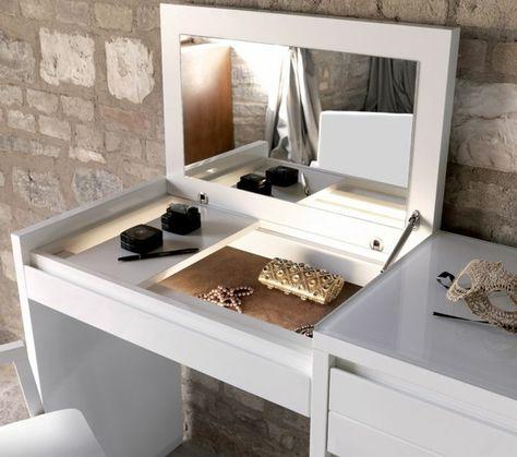 Jolie coiffeuse avec miroir, 40 idées pour choisir la meilleure - chambres a coucher conforama