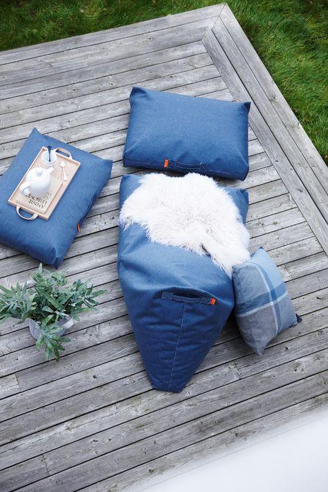Sitzkissen Felix Lounge, Blue Jeans | Petit Pont   Skandinavische Möbel,  Accessoires U0026 Deko Für Haus Und Garten