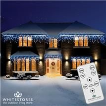 Let It Go #Frozen this #Christmas thanks to our magical #LED Icicle Outdoor Lights - http://www.whitestores.co.uk/christmas/christmas-lighting/led-icicle-lights.aspx