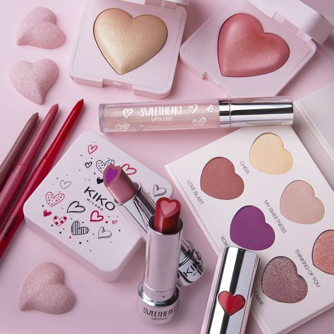 Kiss And Makeup Everything Your Heart Desires Together In One Picture Sweetheart Collection Kiko Milano Cruelty Free Makeup Makeup
