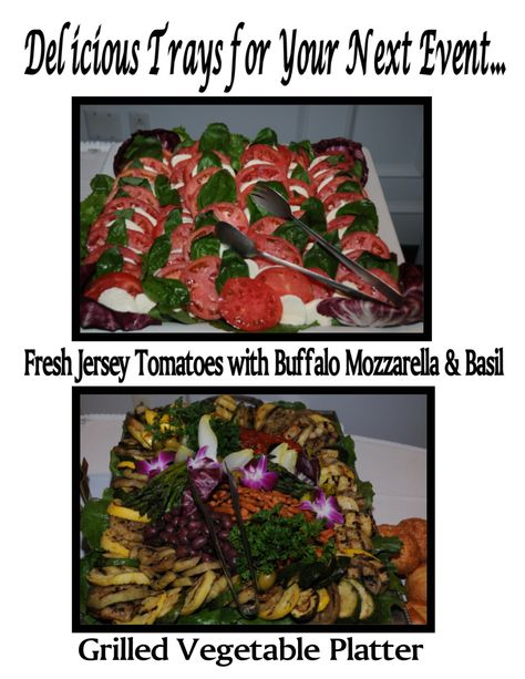Let us cater your next event!