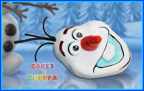 Olaf -  Disney's FROZEN  Cake (How To)