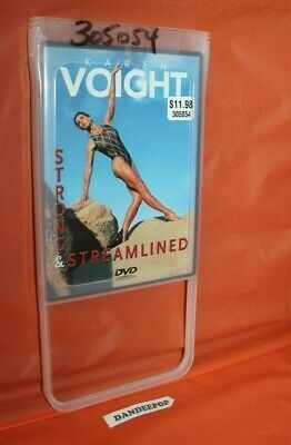 Details About Karen Voight Strong And Streamlined Dvd 2002 In