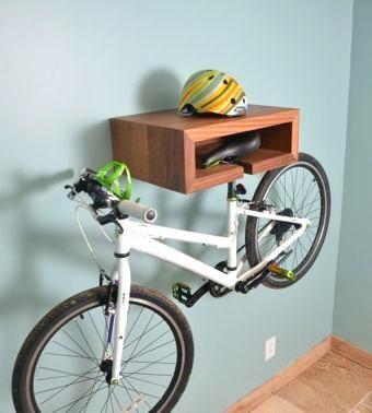 Super Fahrrad in kleiner Wohnung speichern #fahrradständer #fahrradlift UA29