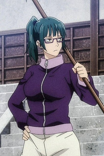 Zenin Maki Jujutsu Anime Sorcerer