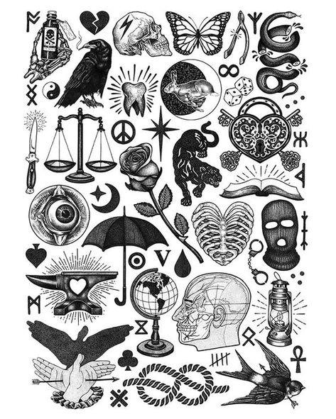 Check out our website for more Tattoo Ideas 👉 positivefox.com #smalltattoos #cutetattoos