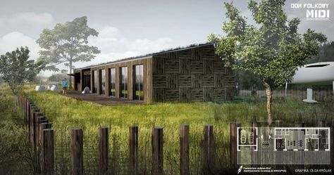 Folkowy dom pasywny - zdjęcie