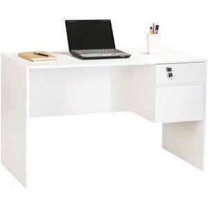 Coventry 2 Drawer 1200mm Desk White White Desks Desk Essential Office Supplies