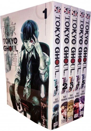 Tokyo Ghoul Volume 1 5 Collection 5 Books Set Series 1 Tokyo Ghoul Manga Books Manga Box Sets