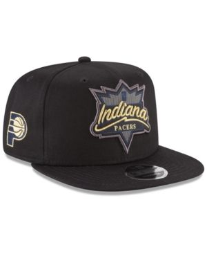 New Era Indiana Pacers Retro Showtime 9fifty Snapback Cap Black Adjustable Indiana Pacers New Era Sports Fan Shop