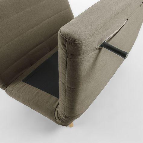 Canape Lit Susan Taille 1 Place Canape Lit Tissu Et Lit