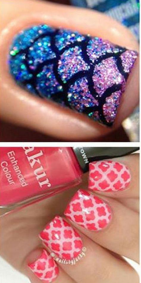 nails $7.99 - 24pcs Large Nail Art...