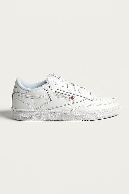 Reebok Club C 85 White on White Leather