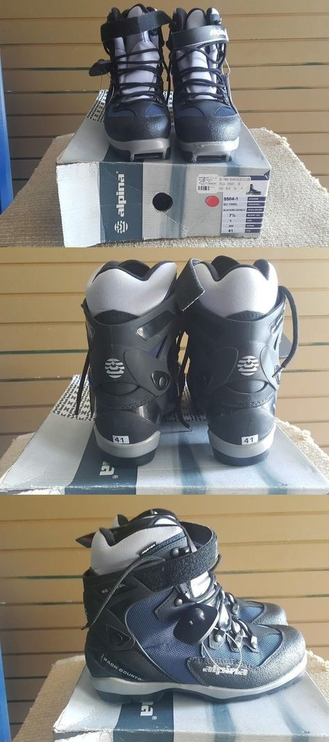 NEW ALPINA BC L Womens Uni Back Country CROSS COUNTRY - Alpina bc boots