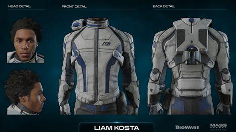 Пиби - Peebee - Character Kit - Концепт-арт - Mass Effect
