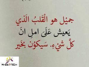 كلام جميل ومعبر عن الحياة Words Expressions