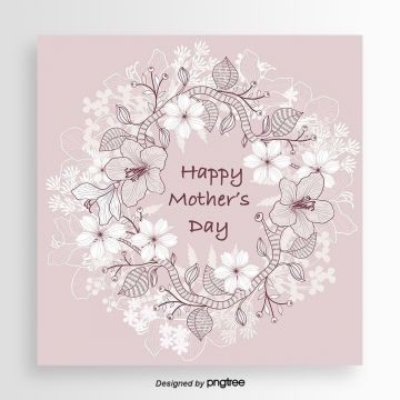 Two Tone Mother S Day Card Template Mothers Day Card Template Card Template Greeting Card Template
