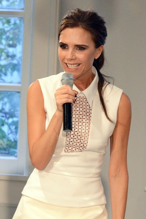 A Different Kind of Tour for Victoria Beckham - Victoria Beckham in Dallas.  [Photo by Kristina Bowman]