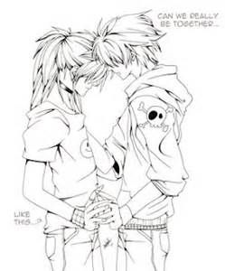 anime couple coloring pages bing images how to draw pinterest coloring pages anime couples and coloring - Coloring Pages Anime Couples Chibi