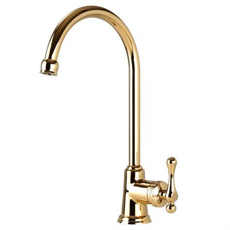 Find Mondella Maestro Gold Lever Handle Sink Mixer at