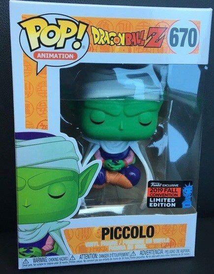 Piccolo Brand New In Box Dragonball Z Funko POP Animation