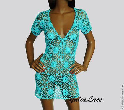 c5bffcdf047d204 Пляжные платья ручной работы. Ярмарка Мастеров - ручная работа. Купить  Пляжное платье