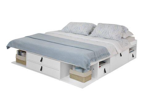 Solution Rangement Amenagement Lit 2 Places Tiroirs Casiers Inspiration Maison Et Chambre A Coucher Rangement Meuble Design