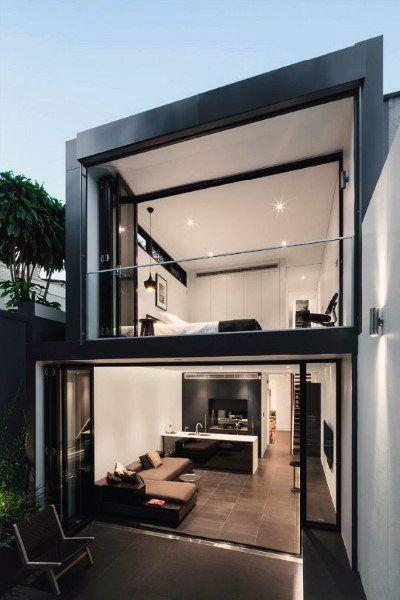 67 Modern Loft Design Ideas Luvne Com Fachadas Casas