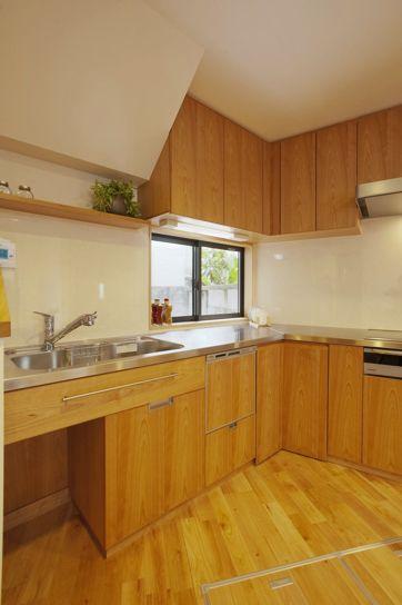 リフォーム リノベーションの事例 キッチン 施工事例no 191変形な建物だからこそ楽しいプラン スタイル工房 壁付けキッチン I型キッチン キッチンレイアウト