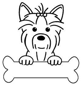 Riscos Graciosos Cute Drawings Riscos De Caes Cachorrinhos Dogs Puppies Dog Drawing Yorkie Terrier Yorkshire Terrier
