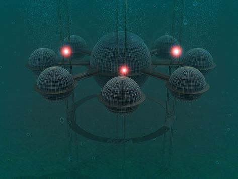 Self-Sustainable Underwater Living: Sub-Biosphere 2 by Phil Pauley [Video]    http://www.facebook.com/athen61910   Pinterest   Underwater, Architecture  and ...