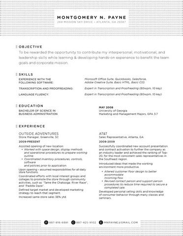 17 Best images about Nifty Format on Pinterest Cool resumes - resume headers