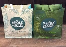 Whole Foods Grocery Bag In Hawaii Exclusive Design の画像