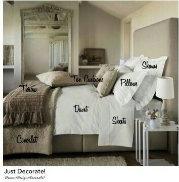 The Chronic Dreamer: Decor: How To Make Your Bed Like A Luxury Hotel - Luxury Decor - Modern Bedroom Bedroom Inspirations, Home Bedroom, Bedroom Design, Luxurious Bedrooms, Master Bedrooms Decor, Bed Comforters, How To Make Bed, Home Decor, Remodel Bedroom