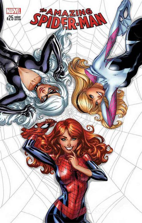 Amazing Spider-Man Signed J. Scott Campbell Variant Cover A - Marvel Comics