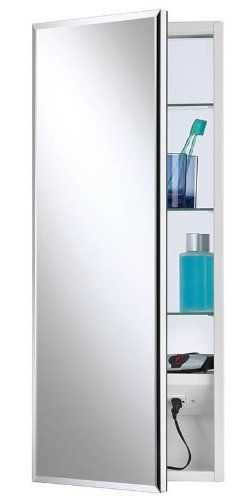 Top 10 Medicine Cabinet With Electrical Outlet Inside Of 2020 No Place Called Home Bathroom Storage Organization Recessed Medicine Cabinet Broan