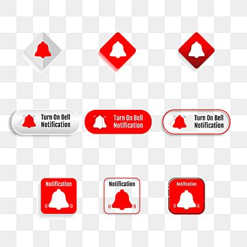 Notification Bell Icon Social Media Notification Icon Alert Png And Vector With Transparent Background For Free Download In 2021 Graphic Design Templates Education Icon Icon