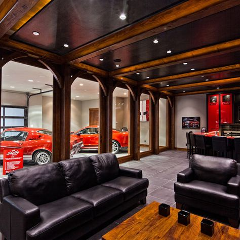 Garage And Shed Design Ideas Pictures And Remodels Mancave Ideeen Toekomstig Huis Garage Ideeen