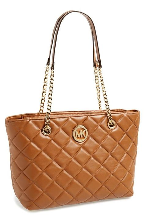 This Michael Kors classic style quilted tote is perfect for