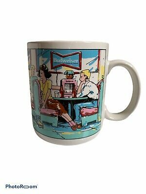 Anheuser Busch Official Product Bud S Diner Retro Coffee Mug In