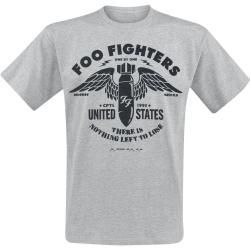Official Foo Fighters One By One Stencil Rock T-Shirt