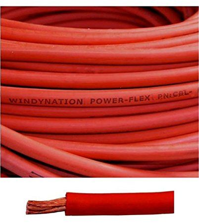 4 Gauge 4 Awg 100 Feet Red Welding Battery Pure Copper Flexible Cable Wire Car Inverter Rv Solar Review Cable Wire Welding Cable Pure Copper